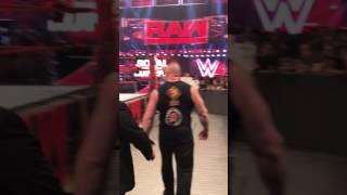 Goldberg, Brock Lesnar, The Undertaker After RAW went off Air WWE RAW 1/23/17