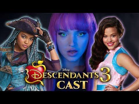Descendants 3 OFFICIAL Cast Audrey Is Back,TUJN3 - VideosTube