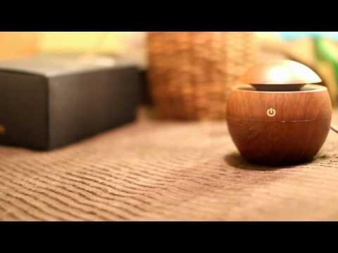 USB ultrasonic humidifier mist maker with LED Light -