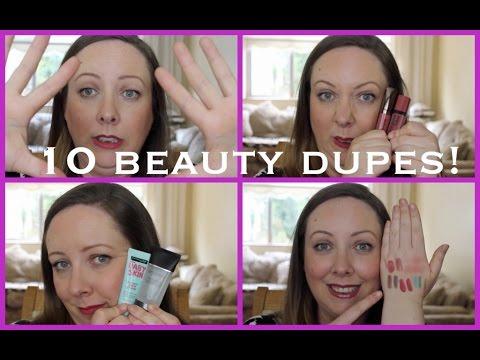 10 Beauty dupes!  Lovely Girlie Bits