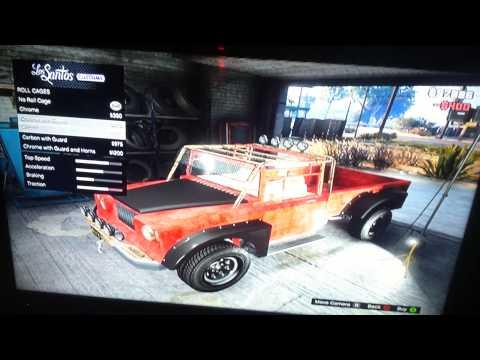 Trevor's truck customization