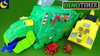 Download LOTS of Dinotrux Toys NEW Stego Storage Garby Diecast Dinosaur Toys Collection Ty Revvit Skya Dozer Video