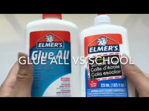 GLUE ALL vs SCHOOL GLUE