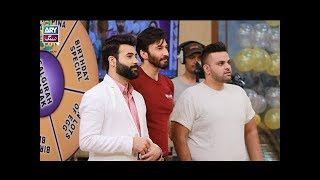 """Faysal Qureshi,Aijaz Aslam,Rose,Aadi & Faizan playing """"Ab To Peena Paray ga"""""""