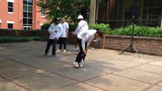 Cool Breakdancing Group