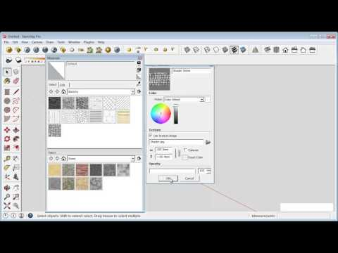 Sketchup Tips Create Your Own Material Libraries