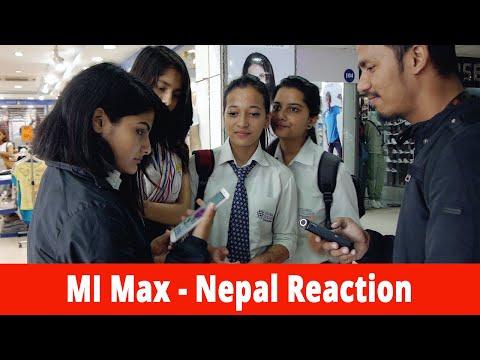 Mi Max - Nepal Reaction | Gadgets In Nepal