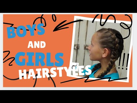How To Do Tight (Double French Braid) Girls Hairstyles
