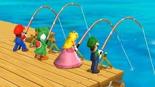 Mario Party 9 Step It Up Peach Vs Mario Vs Luigi Vs Yoshi Master Difficulty Cartoons Mee
