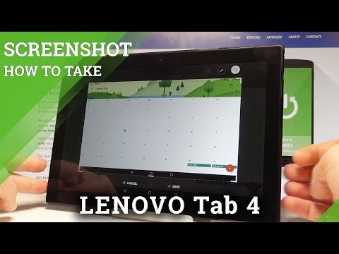 How to Take Screenshot on LENOVO Tab 4 - Capture Screen Methods |HardReset.Info