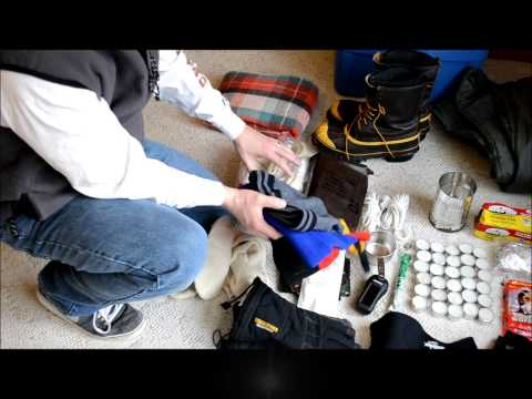 Prepper Cold Weather Survival Gear  Survive stranded in your Vehicle