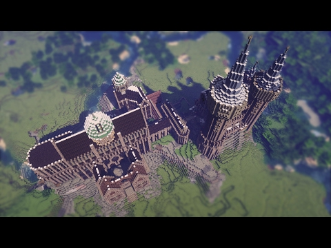 Castle Timelapse | Minecraft Let's Build It!