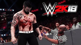 Wwe Bloodiest Matches Ever wwe 2k18 My Career Mode Episode 4