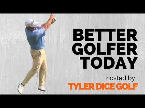 Better Golfer Today hosted by Tyler Dice Golf - Utilizing Technology with Tee Shots