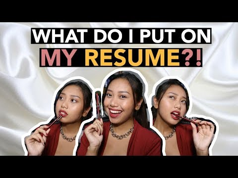 How To Make A CV/Resume (College Students)