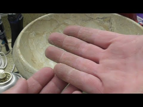 How To Remove FOAM Sealant From your hands. WHAT WORKS