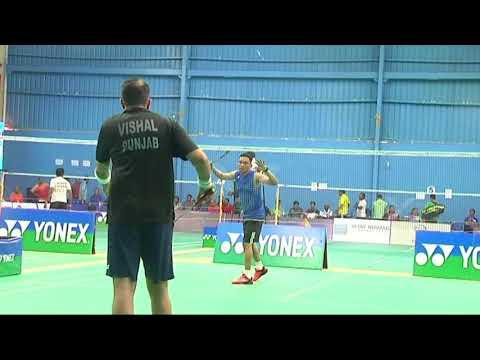 Vizag National Masters Badminton Championship at  Laqshya Badminton Academy