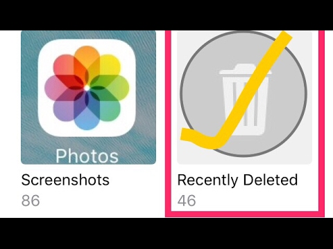 How to recover deleted videos & pics in 5 seconds in Iphone