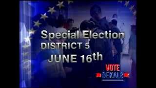 Psa Dekalb Special Election For Commission District 5 Vacancy June 16