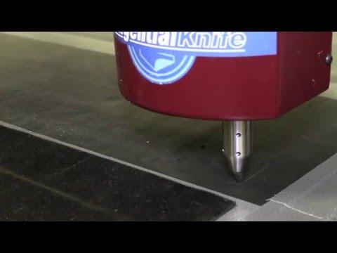 Custom Gaskets CNC Knife Cut Process