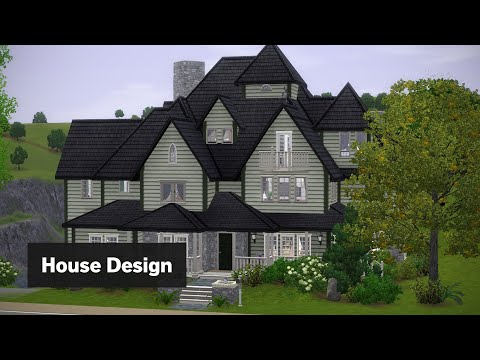 Hunt Mansion | The Sims 3 House Building