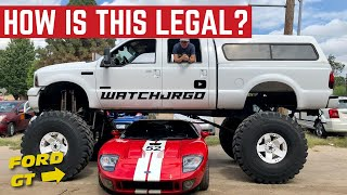 How Is This MONSTER TRUCK Ford F-350 Even LEGAL?