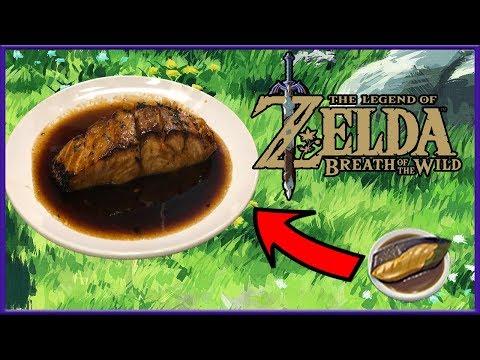 Cuccos Kitchen | How To Make Glazed Seafood | Legend of Zelda: Breath Of The Wild