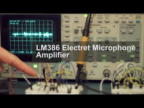 LM386 Electret Microphone Amplifier