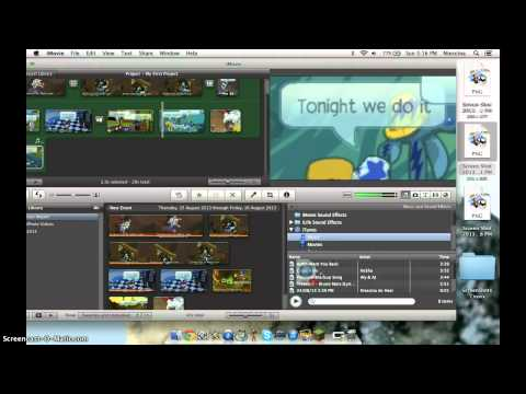 How to make a music video on iMovie
