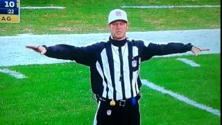 "Referee During Eagles vs Ravens Game Appears To Call Pass Interference ""On The White Guy"""