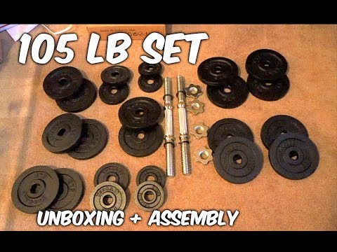 Yes4All Adjustable Dumbbells 105 lbs (UNBOXING + ASSEMBLY)
