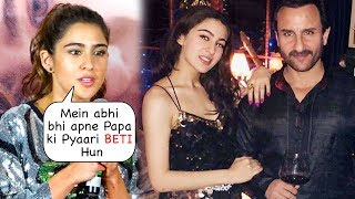 Sara Ali Khan Gets Emotional Talking about Father Saif Ali Khan at Love Aaj Kal Trailer launch