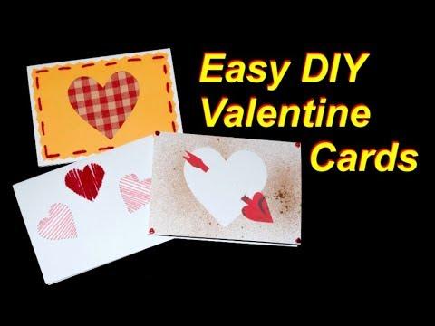 Easy Valentine Cards to Make