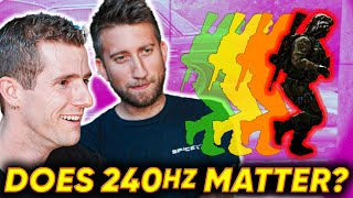 Does 240Hz Matter for Gaming ft. Gav from Slow Mo Guys