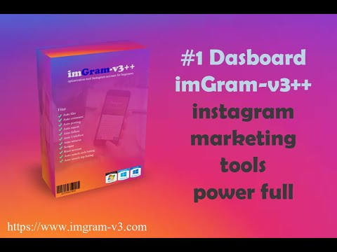 imGram-v3++ Menu Dasboard Tools Optimasi INSTAGRAM