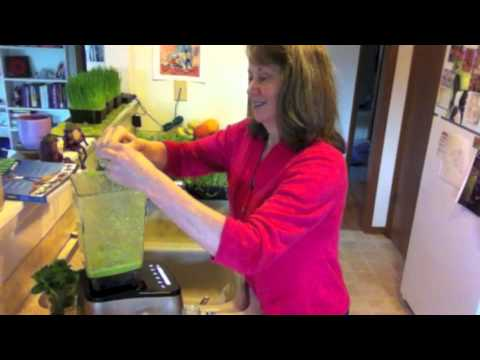Tasty Raw Pea Shoot Soup and Frozen Pea Soup