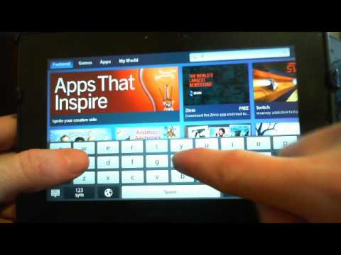 Think-4-U Music Player - BlackBerry Playbook App Review