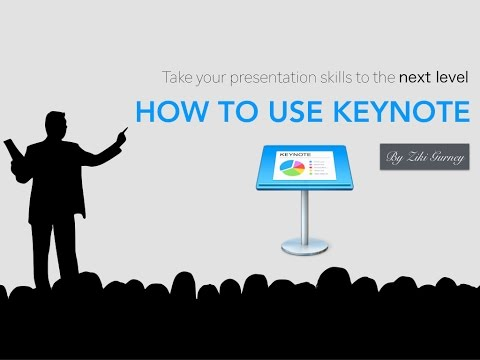How To Use Keynote On An iPad