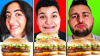 😍 Klein vs. Mittel vs. Groß bei Burger King Challenge   Can Wick