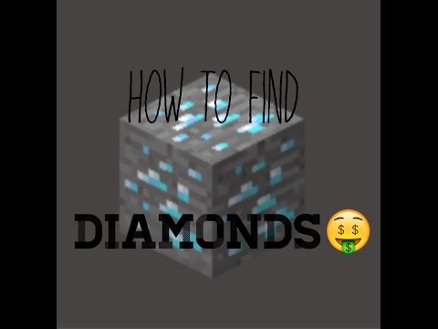 How to Find DIAMONDS in Minecraft PE under 5 minutes