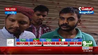 Latest public opinion regarding NA 255 candidates | Neo News HD