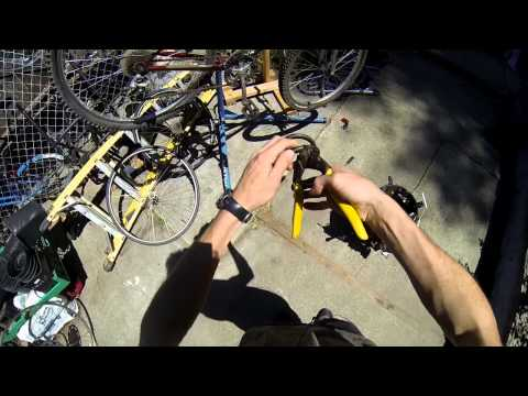 Why Cable Locks are Pointless- cutting cable locks