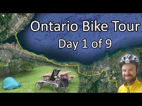Burlington to Niagara Falls - Rural Ontario Bike Tour - Day 1 of 9