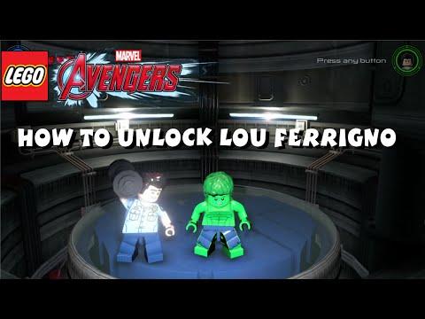 Lego Marvel Avengers - How to Unlock Lou Ferrigno (The Incredible Hulk TV Show)