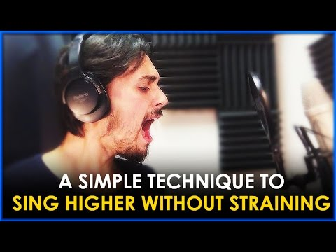 HOW TO SING HIGH NOTES WITHOUT SHOUTING EP. 1 - A SIMPLE TECHNIQUE TO SING WITH MORE FREEDOM