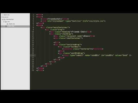 HOW TO CREATE CHAT APPLICATION IN JAVASCRIPT, PHP & MYSQL  PART - 1