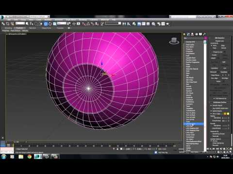 3Ds Max Realistic Eye Part 1