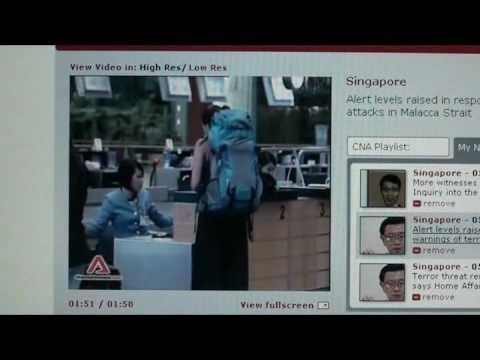Singapore Navy Issue Warning Of Terror Attack