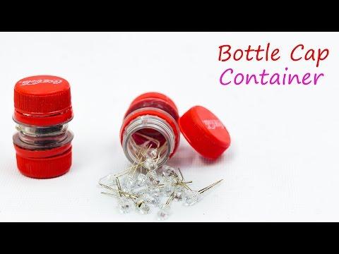 Best Way to Reuse Plastic Bottle Cap - Container