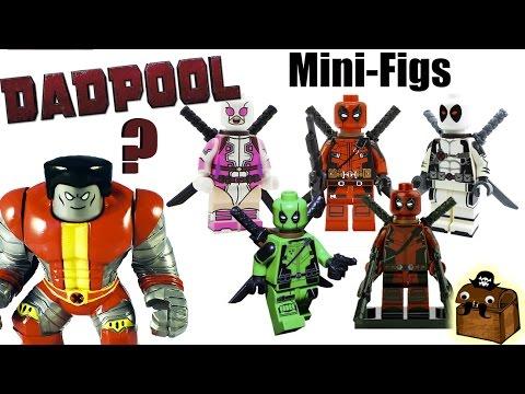 Deadpool Custom LEGO Minifigures 2017